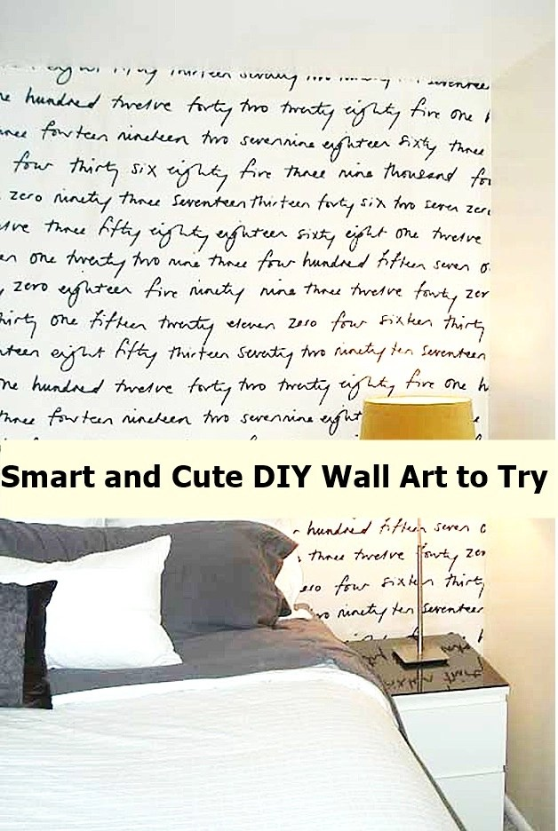 smart and cute diy wall art to try godiygo com