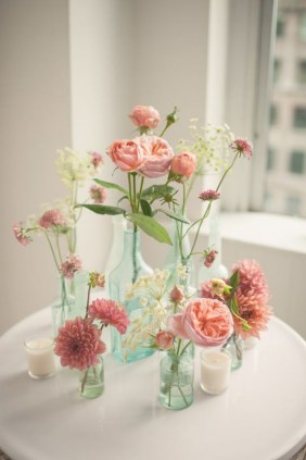 Diy floral arrangement that you can use on your wedding day 08