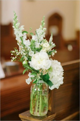 Diy floral arrangement that you can use on your wedding day 24