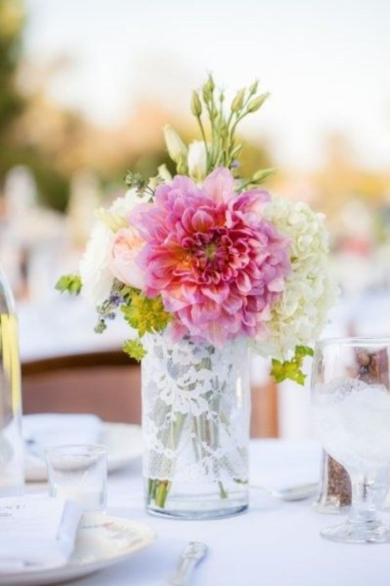 Diy floral arrangement that you can use on your wedding day 42