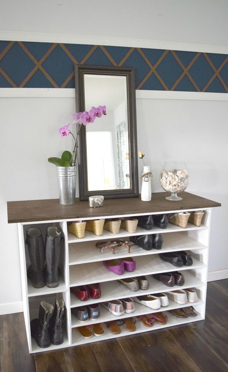 Stylish shoe rack