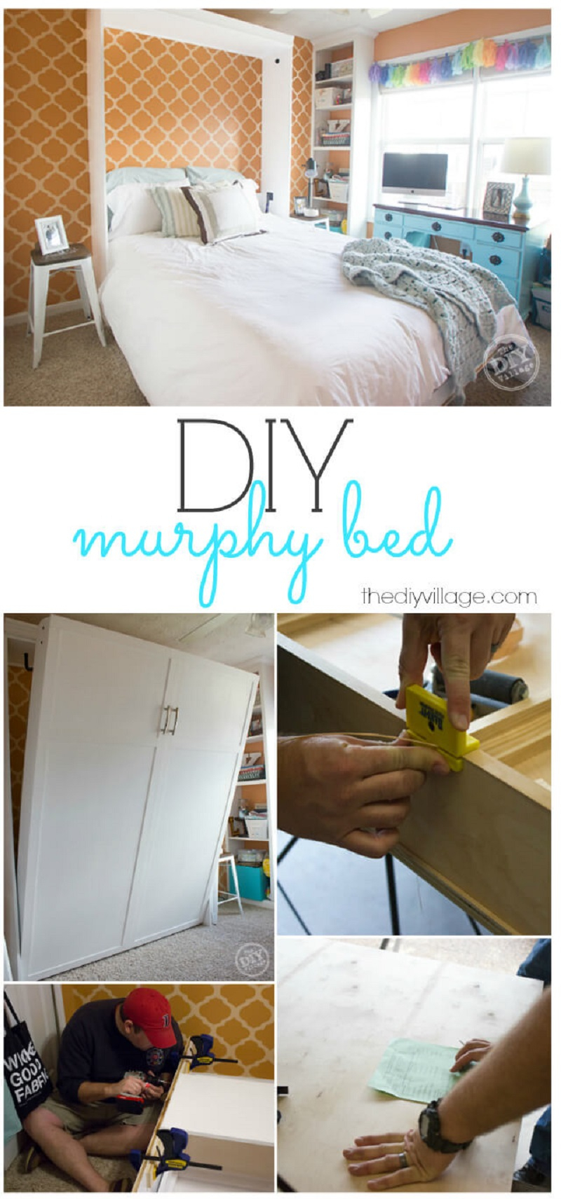 Murphy bed idea for an office space