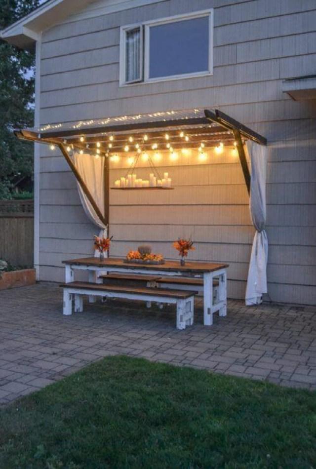 Summer splendor awning style canopy