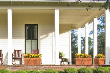 Awesome farmhouse fall decor porches 04