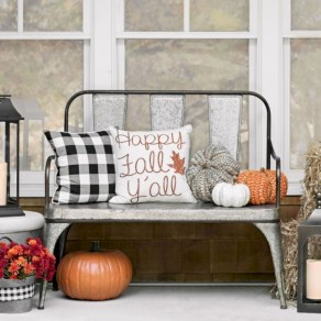 Awesome farmhouse fall decor porches 13