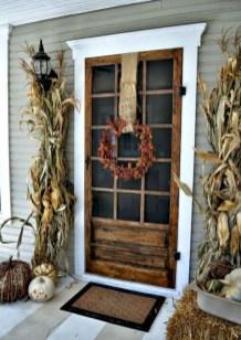 Awesome farmhouse fall decor porches 17