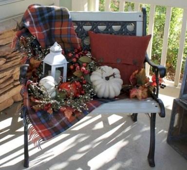 Awesome farmhouse fall decor porches 18