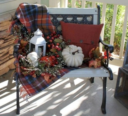 Awesome farmhouse fall decor porches 18