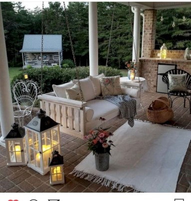 Awesome farmhouse fall decor porches 20