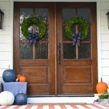 Awesome farmhouse fall decor porches 29