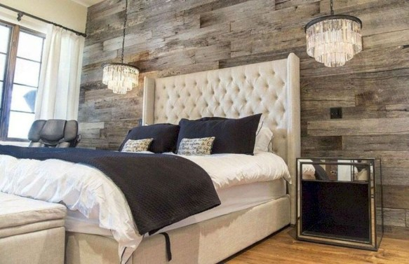 Best modern farmhouse bedroom decor ideas 36