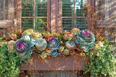 Cheap and easy fall window boxes ideas 06