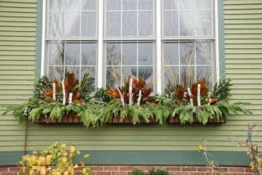 Cheap and easy fall window boxes ideas 30