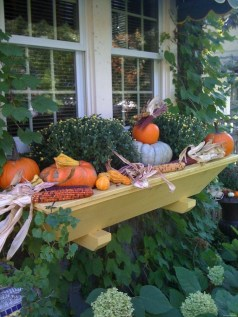 Cheap and easy fall window boxes ideas 57