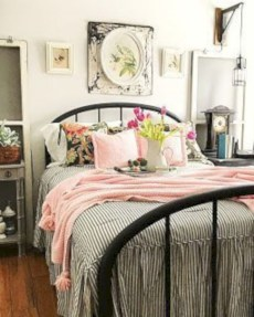 Creative bedroom decoration ideas for a new spring looks 08