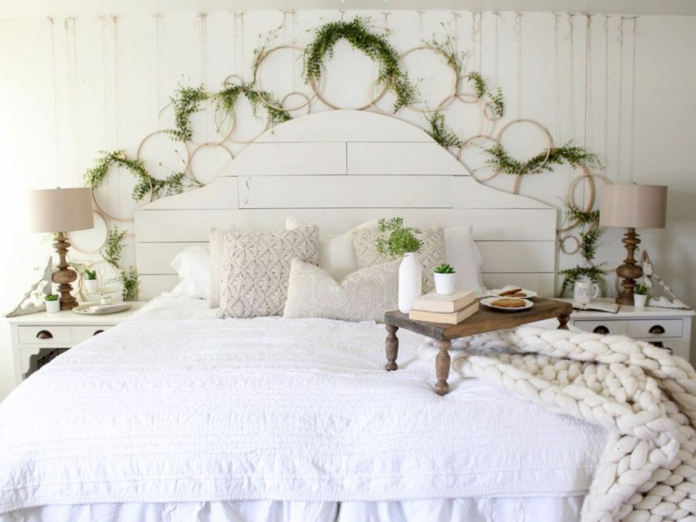 Creative bedroom decoration ideas for a new spring looks 13