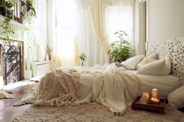 Creative bedroom decoration ideas for a new spring looks 14
