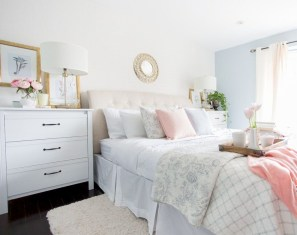 Creative bedroom decoration ideas for a new spring looks 16