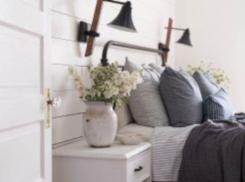 Creative bedroom decoration ideas for a new spring looks 21