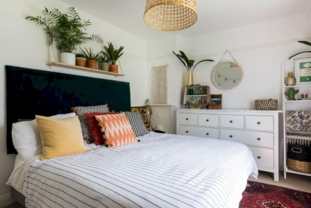 Creative bedroom decoration ideas for a new spring looks 27