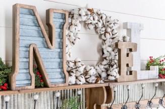 Cute farmhouse christmas decoration ideas 04