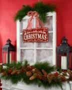 Cute farmhouse christmas decoration ideas 10