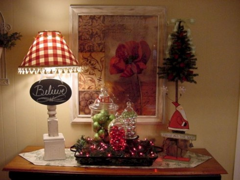 Cute farmhouse christmas decoration ideas 11