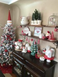 Cute farmhouse christmas decoration ideas 17