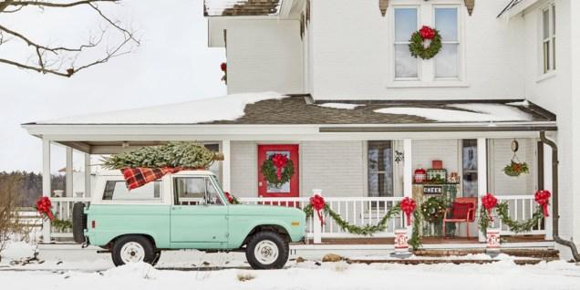 Cute farmhouse christmas decoration ideas 20