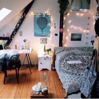 Easy and cute teen room decor ideas for girl 08