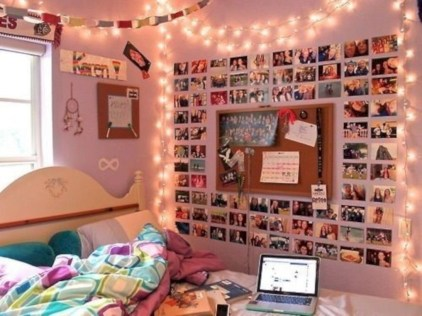 Easy and cute teen room decor ideas for girl 10