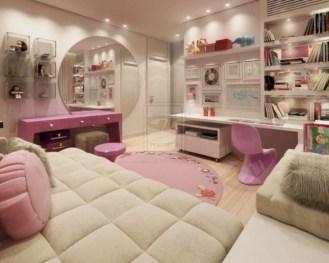 Easy and cute teen room decor ideas for girl 17