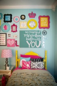 Easy and cute teen room decor ideas for girl 26