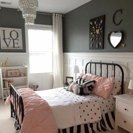 Easy and cute teen room decor ideas for girl 31
