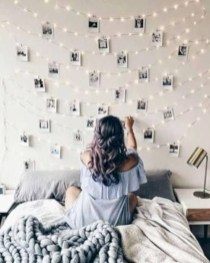 Easy and cute teen room decor ideas for girl 34