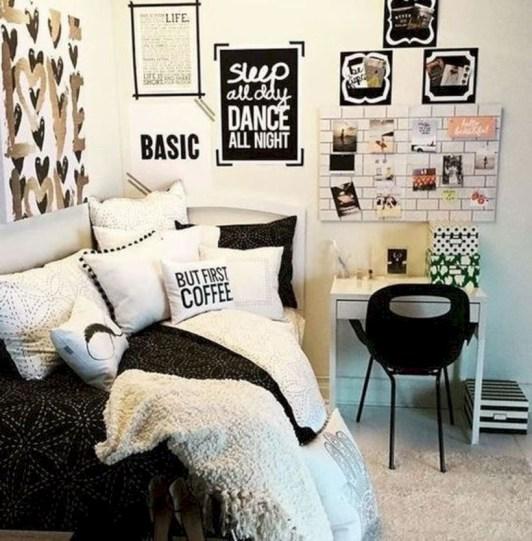 Easy and cute teen room decor ideas for girl 39