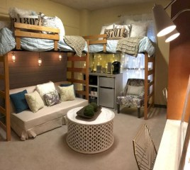 Elegant dorm room decorating ideas 13