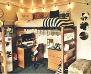 Elegant dorm room decorating ideas 14