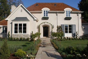Exterior paint colors for house with brown roof 10