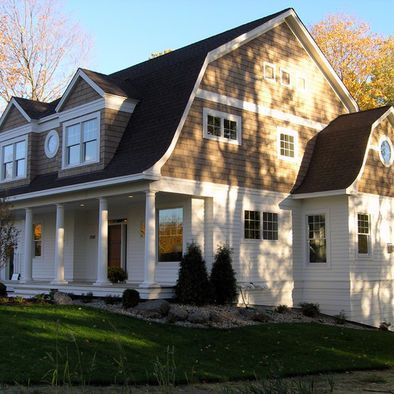 Exterior paint colors for house with brown roof 36