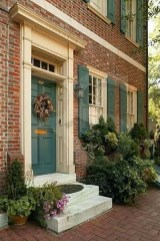 Exterior paint colors with red brick 05