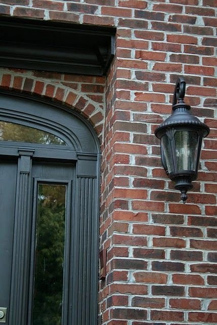 Exterior paint colors with red brick 06