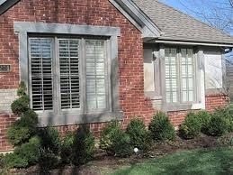 Exterior paint colors with red brick 07