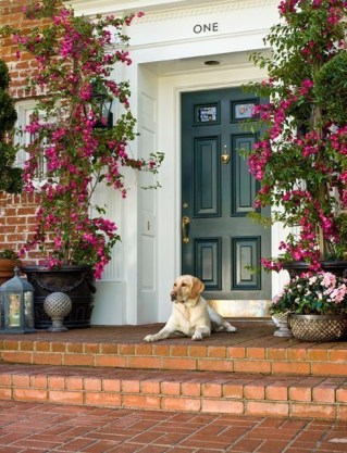 Exterior paint colors with red brick 39