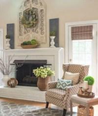 Incredible european farmhouse living room design ideas 05