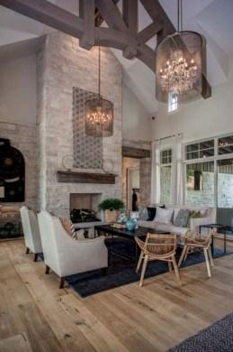Incredible european farmhouse living room design ideas 23
