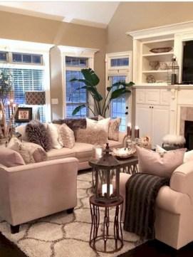 Incredible european farmhouse living room design ideas 37