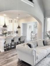 Incredible european farmhouse living room design ideas 40