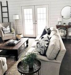 Incredible european farmhouse living room design ideas 42