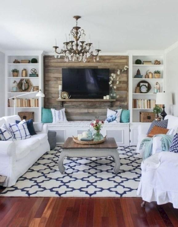 Incredible european farmhouse living room design ideas 61